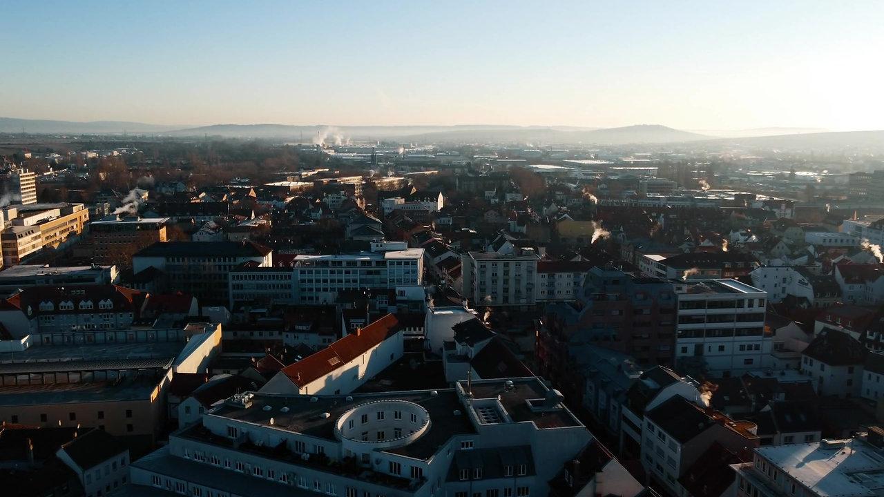 Bad Kreuznach Drohnen Aufnahme