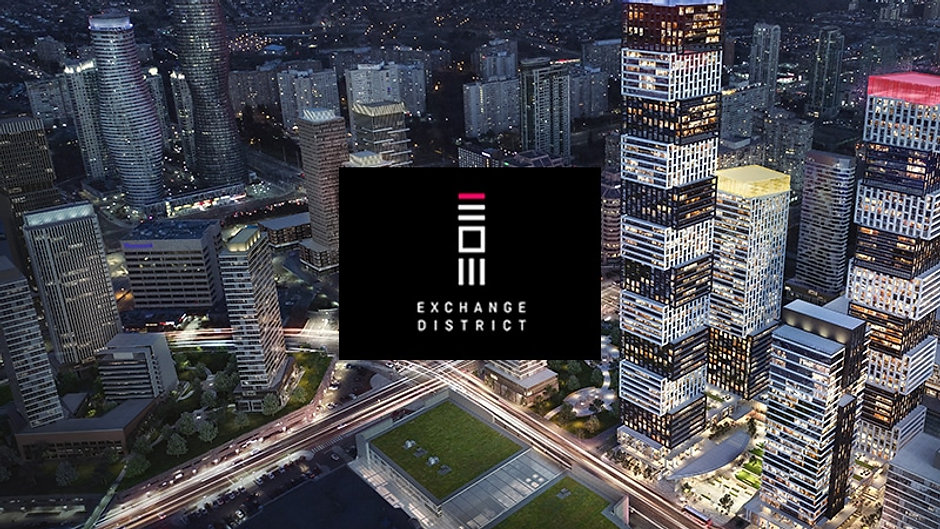 Exchange District Mississauga Condominiums