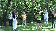 Tai Chi by the River