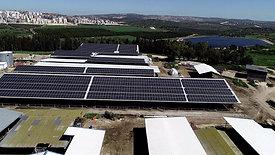 פרויקט סולארי של נופר אנרגיה וקיבוץ מצר