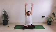 45 min Lunch Yoga Class -10 Min Pranyama + Asana 35 min