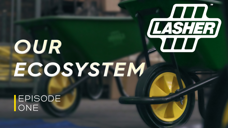 Lasher Our Ecosystem Campaign
