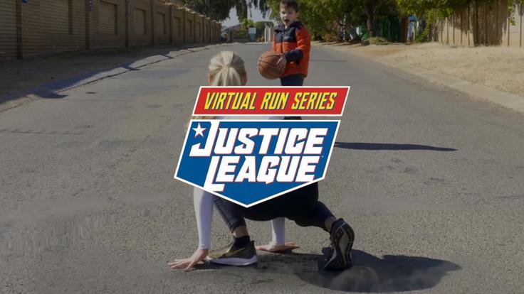 Justice League Virtual Run Series Campaign