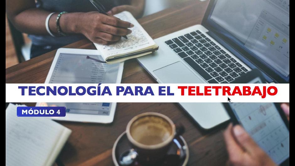 MÓDULO 4 tecnología para teletrabajo