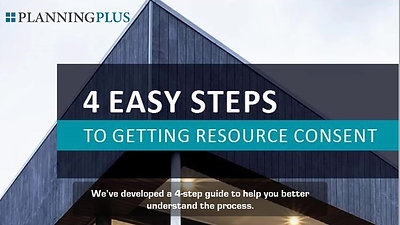 Resource Consent in 4 easy steps