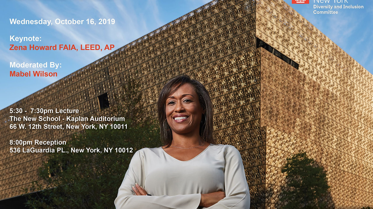 J. Max Bond Jr. Lecture | Planning to Stay - 10.16.2019