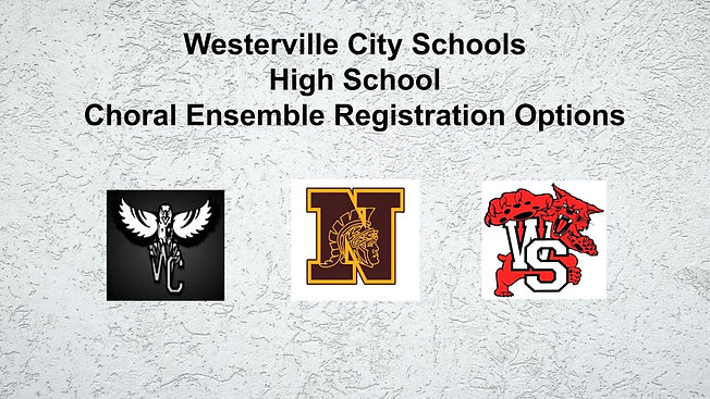 WCS Choir Registration