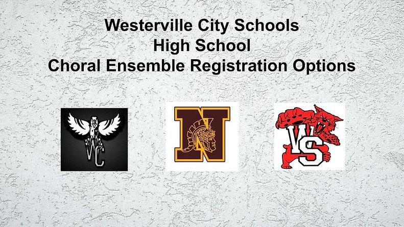 WCS Choir Registration