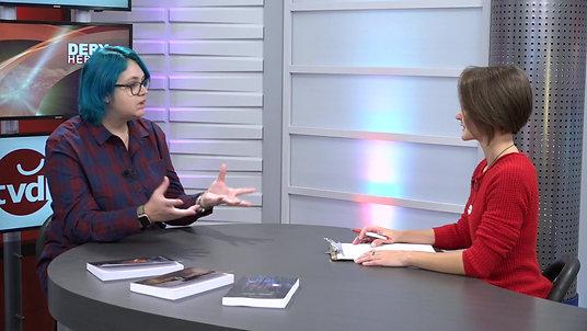 Entrevue sur la chaine TVDL de l'auteur Isabelle Tremblay