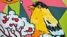 Goldfinch Flurry