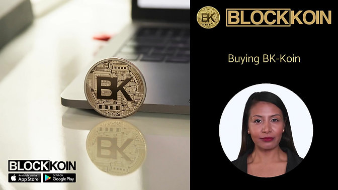 How to buy BK-Koin