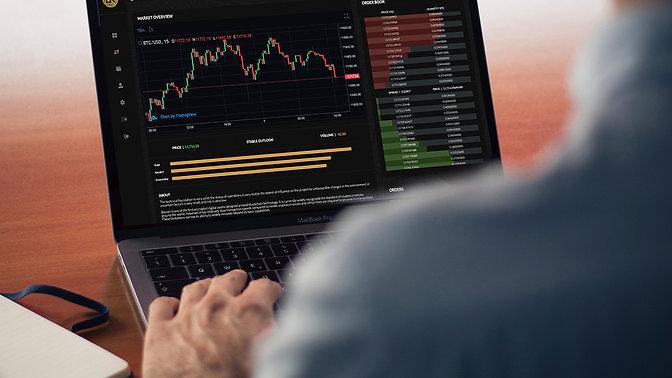 The BlockKoin Exchange - Secure Sign-Up