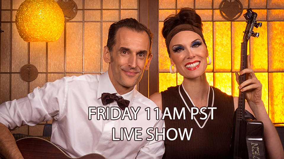 Live Music with Deven and Ned -   Every Friday 11am PST