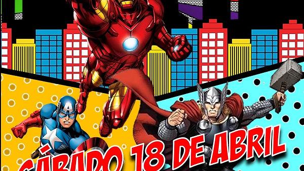 Invitación Avengers1