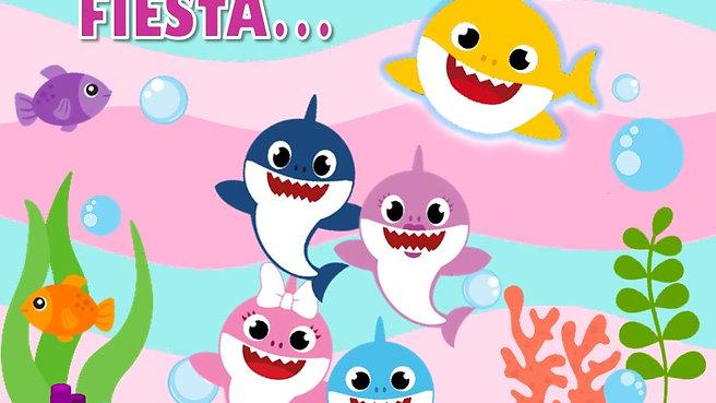 Invitación Baby shark2