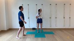 Headstand Preparation (15 min)