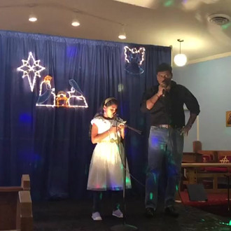 Father and Daughter Duet | Christmas Celebration 2018