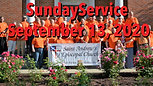 Sunday Worship, September 13, 2020