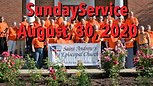 Sunday Worship, August 30, 2020