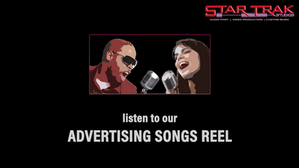 StarTrak Advertising Songs Reel