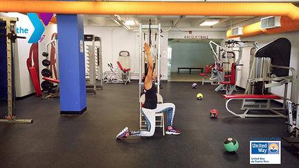 Yoga adaptada en silla