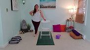 Warrior Chair Yoga