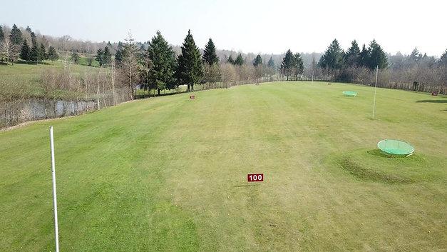 Cibles practice Golf de la prèze