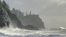 Cape Disappointment Waves - 1080 - Full License Available