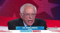 First Democratic Debate - Bernie Sanders