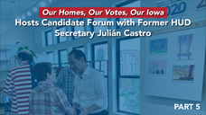 Julián Castro on affordable housing--Iowa Event--Q and A--5