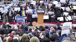 Bernie Sanders campaign rally in Boston