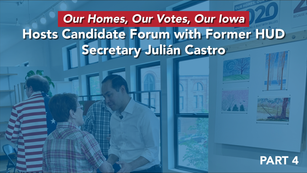 Julián Castro on affordable housing--Iowa Event--Castro--5