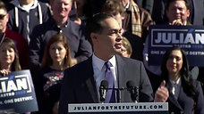 Julian Castro's full speech announcing that he's running for president Part 2