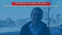 Michael Bennet Discusses Affordable Housing in Iowa