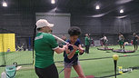 Softball Hitting Lesson