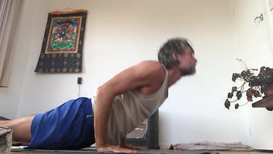 Virabhadrasana 2 transition