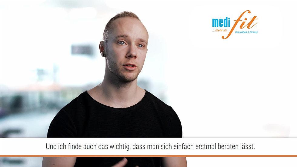 Erfolg beim Muskelaufbau - Sven