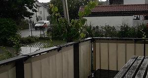Soliday C bei Regen