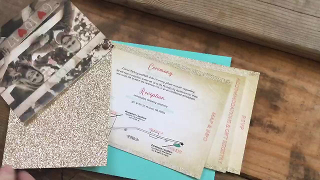 Giesler Wedding Stationary