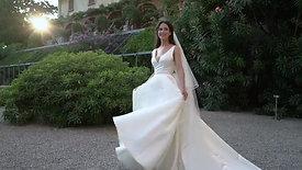 American Bride married at Villa Pizzo -Lake Como