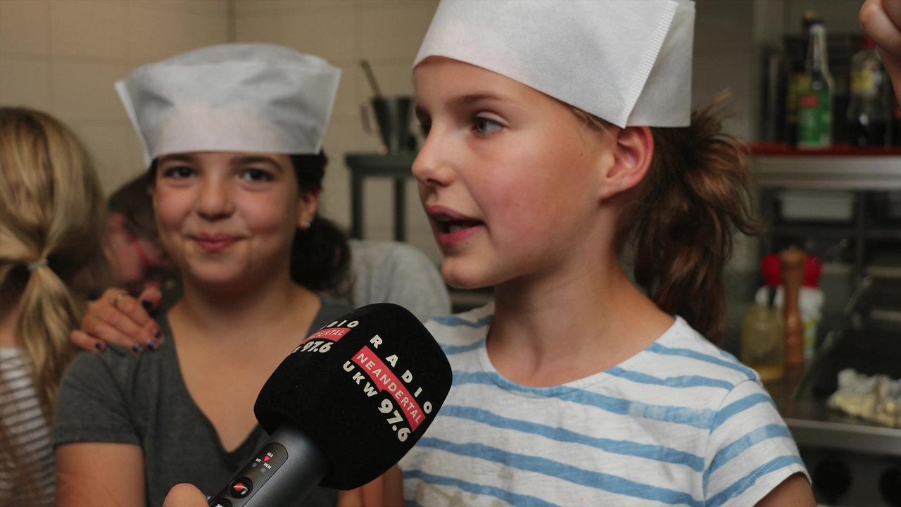 Radio Neandertal zu Besuch im Kids-Talent-Club im Juli 2017