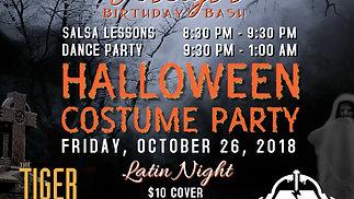 Halloween Party | Latin Night