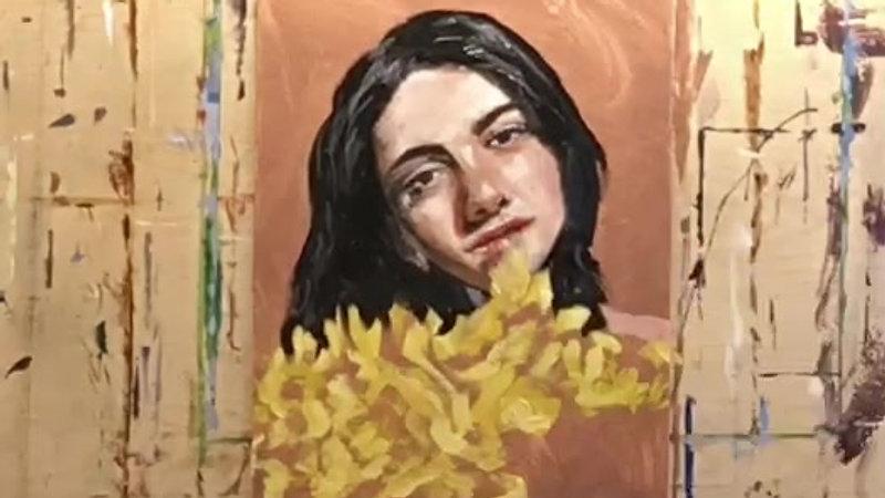 oil painting timelapse