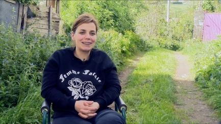 Un día con Rocío Martínez   Aldeas Galas: O Viso
