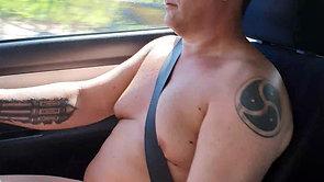 Nude Sunday driving