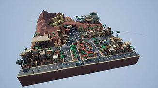 Mini City, by Dongxuan Liu