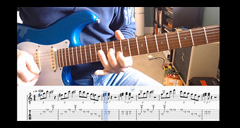Blues lesson sample