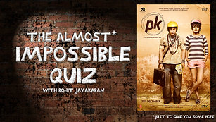 Episode 13 - PK - The Almost Impossible Quiz with Rohit Jayakaran