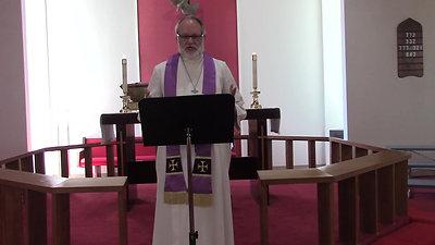 Sermon for March 29