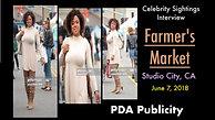 PR Shoot at Studio City Farmer's Market